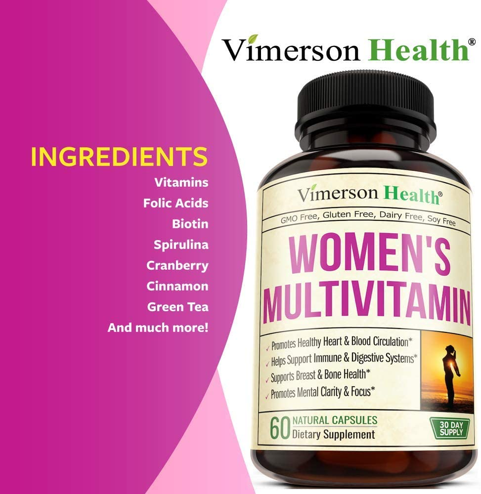 Women's Daily Multivitamin Multimineral Supplement. Vitamins and Minerals