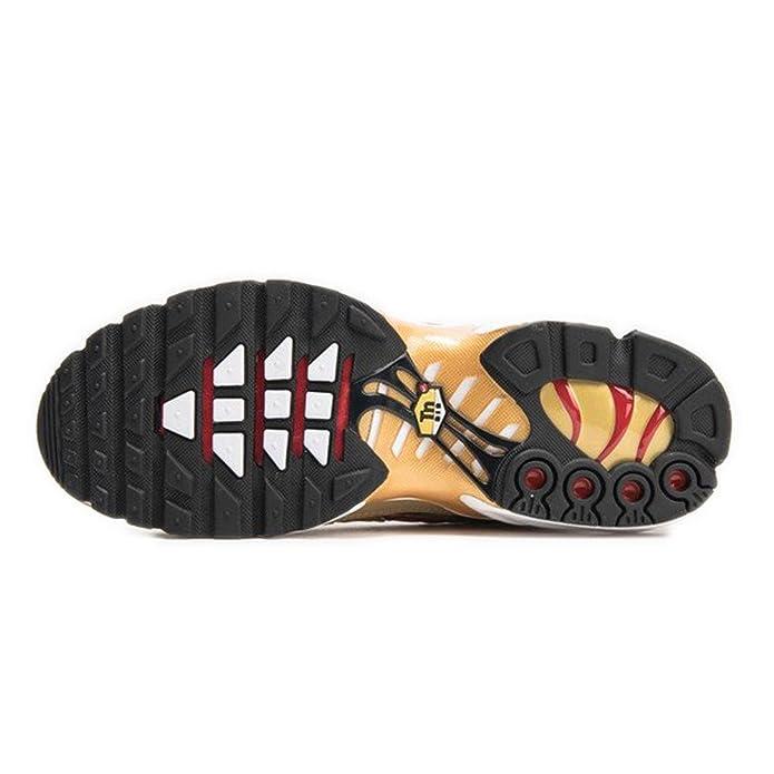 6f3756eb4d893 Zapatillas Nike - Air Max Plus QS Dorado Rojo Talla  45  Amazon.es  Zapatos  y complementos