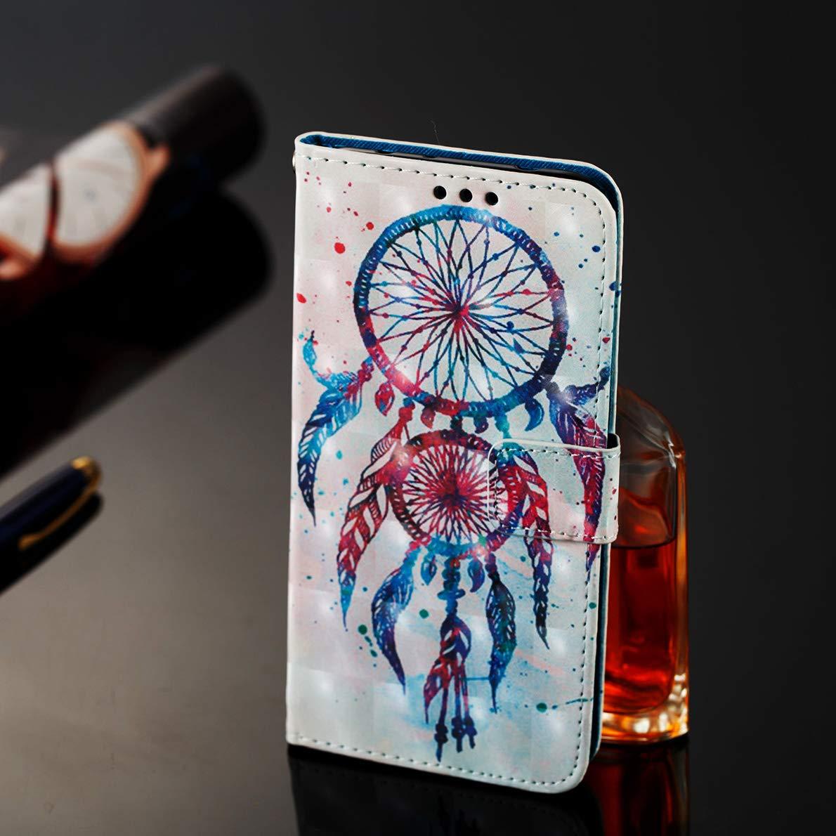Custodia Nokia 7 Plus Flip Cover SHUYIT Portafoglio Custodia in Pelle PU Case Folio Cover Stand Carta Slot Chiusura Magnetica Caso Wallet Flip Cover per Nokia 7 Plus