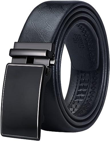 Dubulle Men's Belt,Bulliant Genuine Leather Ratchet Belt for