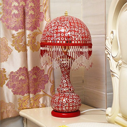 HH European Style Table Lamp Bedroom Bedside Creative Luxury Lighting by FJB (Image #3)