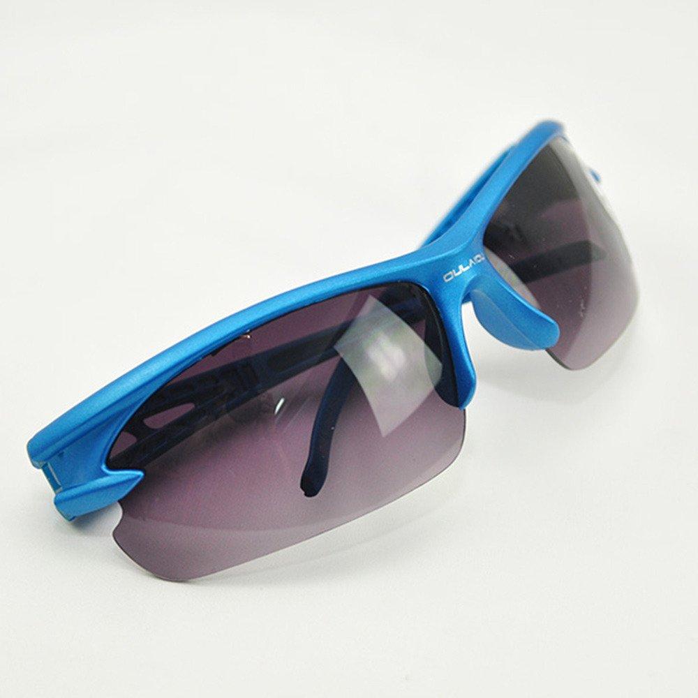 ブルーボディ ブラックレンズ アクティブウェア サイクリング メガネ 目から破片をブロック 飛散防止レンズ   B0172CVJZI