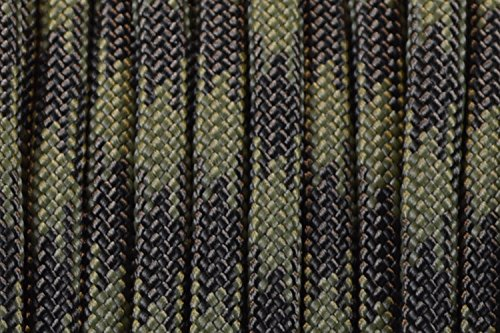(BoredParacord Brand 550 lb Olive Drab and Moss Paracord (100 feet))