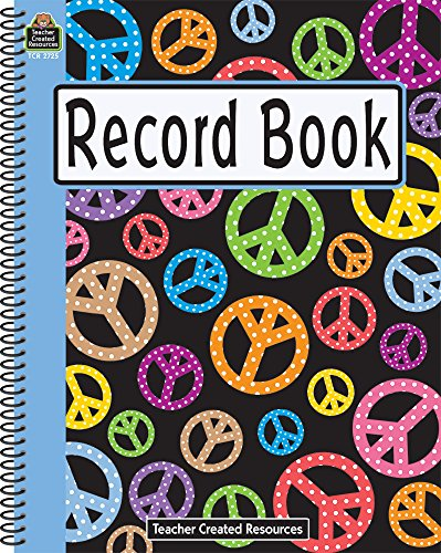 Peace Signs Record Book - Elementary Teachers Book