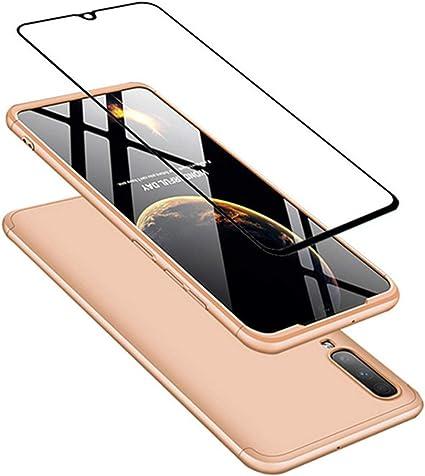 Cristal Templado Matte Ultra Slim PC Hard-Protecci/ón del Cuerpo Scratchproof Cubierta-Oro Rosa DECHYI compatibles para Funda Huawei P Smart 2019,Cubierta