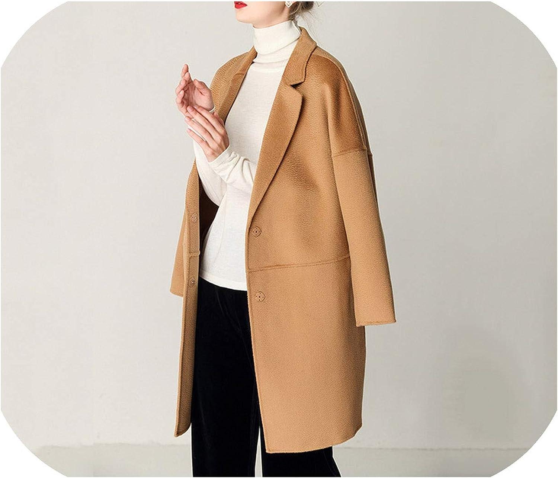 Winter coat wool coat cashmere coat
