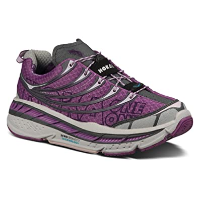 df7b2f387ae55 Amazon.com | Hoka One One Women's Stinson Tarmac Dewberry/Orchid ...