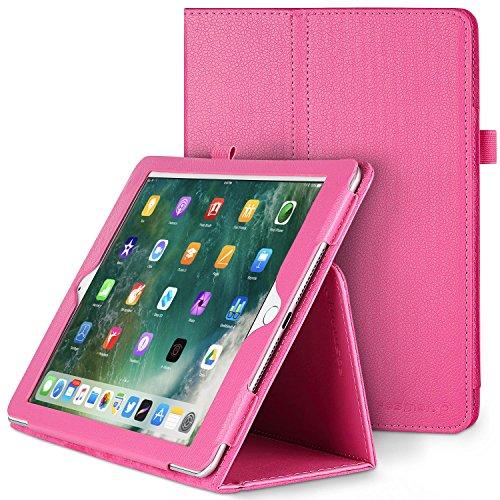 Fosmon OPUS Leather Folio Flip Case with Folding Stand for Apple iPad Air 2 (Hot (Ipad 2 Fosmon Case)
