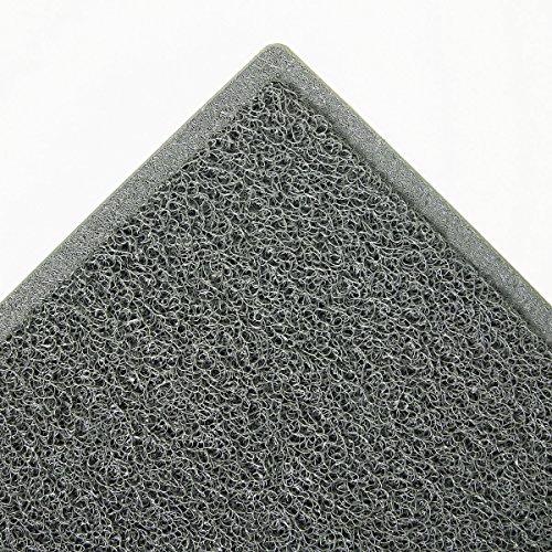 3M 34843 Dirt Stop Scraper Mat, Polypropylene, 48 x 72, Slate Gray - 3m Tape Runner