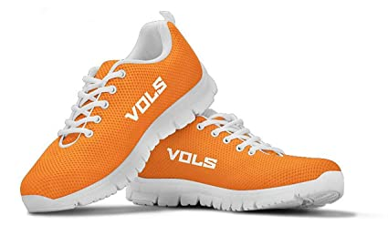 reputable site 6c014 2dfd4 Tennessee Volunteers Helmet Themed Casual Athletic Running Shoe Mens Womens  Sizes Sneakers University Volunteer Football Apparel