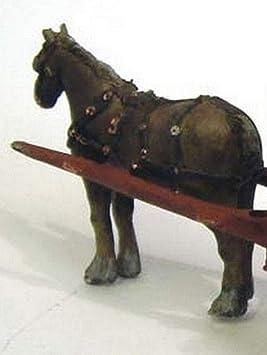 Langley Models caballo + swingle del árbol + arnés modelo O escala ...