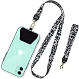 SHANSHUI Phone Lanyard, Neck Strap and Wrist Tether Key Chain Holder Universal Phone Case Anchor for Protection Compatible wi