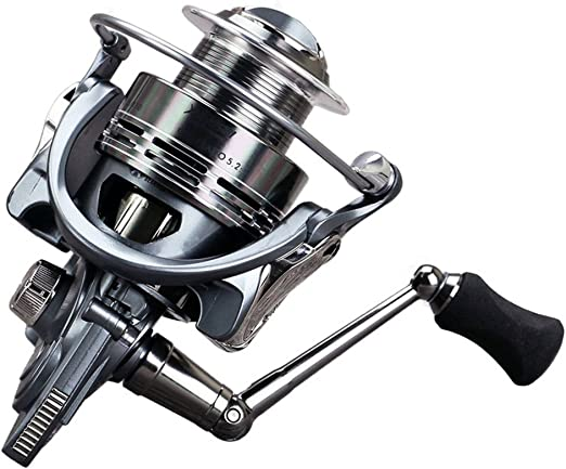 Left//Right Interchangeable Saltwater Freshwater Spinning Fishing Reel Wheel 2