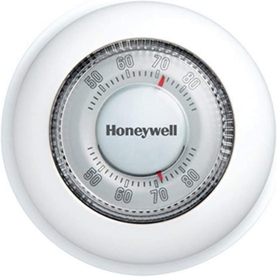 Honeywell Home CT87K1004 The Round Heat Only Manual Thermostat