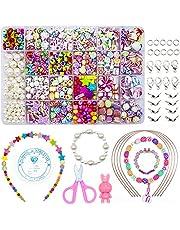 WONDERFORU Zestaw do produkcji biżuterii dla dzieci, 24 kolory
