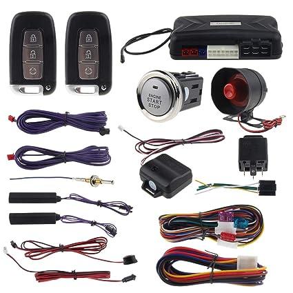 Easyguard EC009-K-L PKE - Alarma de Coche para Arranque ...