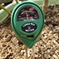 3 in1 Plant Flowers Soil PH Tester Moisture Light Meter