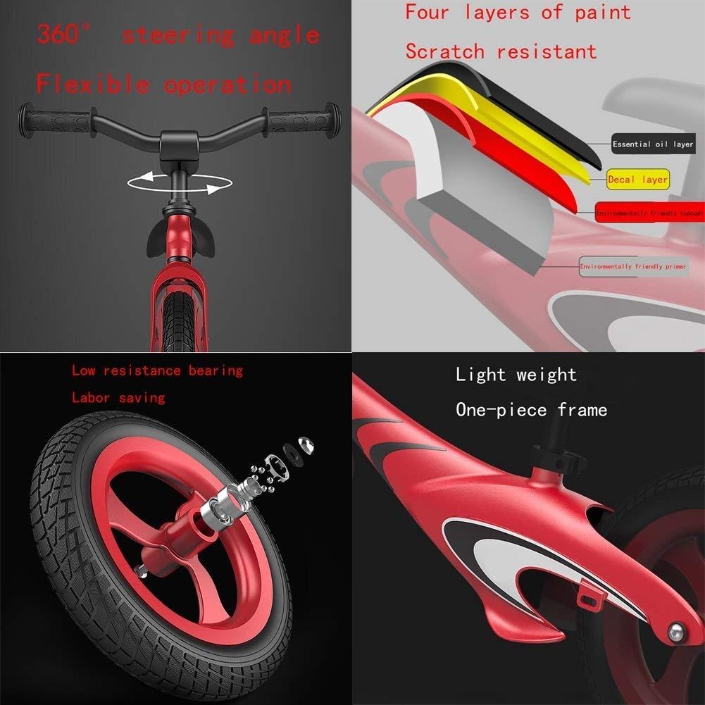 LMETZXC Bicicleta De Equilibrio De Peso Ligero, Andador For ...