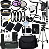 Professional Flash Package for the Nikon P500, P7000, P7100, D2x, D2xs, D1x, D3000, D3100, D5000, D5100, D7000, D700, D700s, F100, F90, F75, F70, F6, F5, F4-series, N8008, N8008s SLR Digital Cameras