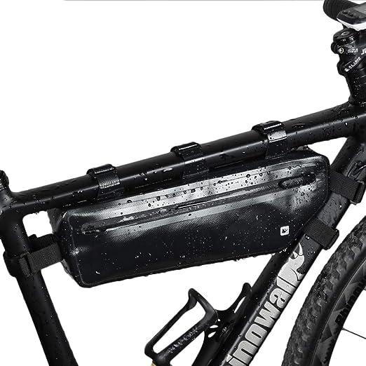 LVAIJING Frente de la Bicicleta del Haz Triangular Paquete ...