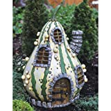 Georgetown Home and Garden Fiddlehead Fairy Striped Gourd House Review