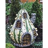 Cheap Georgetown Home and Garden Fiddlehead Fairy Striped Gourd House