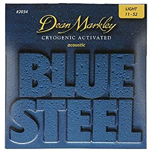 Dean Markley Blue Steel LT 2034 Acoustic Guitar Strings (.011-.052)