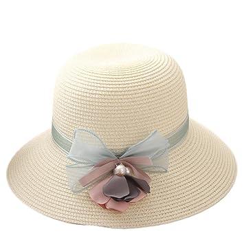 a317474cb2e6a Youkara Sombrero de paja de verano para niñas