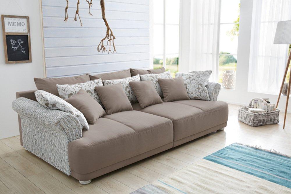 Sofa Größe design big sofa provence landhauslook mit vintagecharakter große