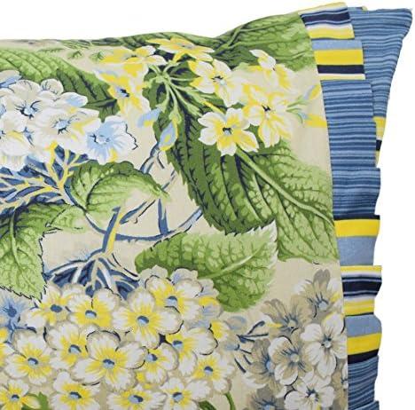 Waverly Floral Flourish Decorative Pillow