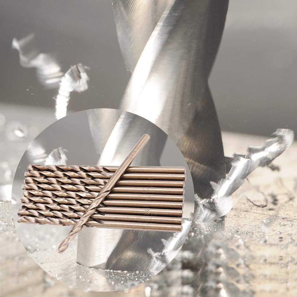 3.2mm HSS-CO Drill bit Set HSS-CO M35 Twist Drill bit in Cobalt Twist Drill bit cast Steel Drill bit for Drilling on Steel