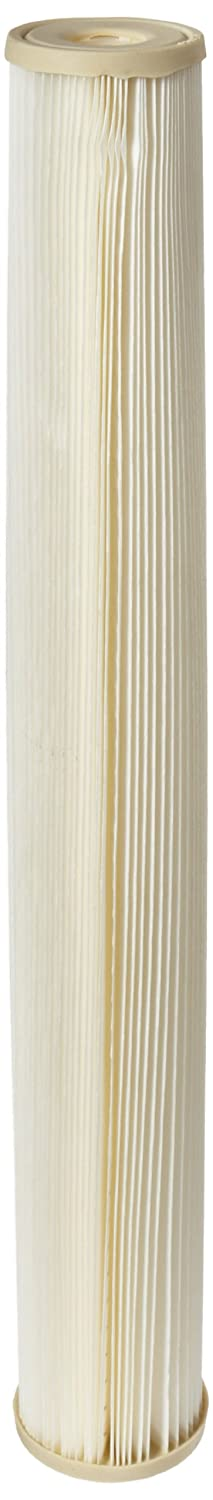 Pentek ECP1 20 Pleated Cellulose Polyester Filter Cartridge 20 x 2 5 8 1 Micron