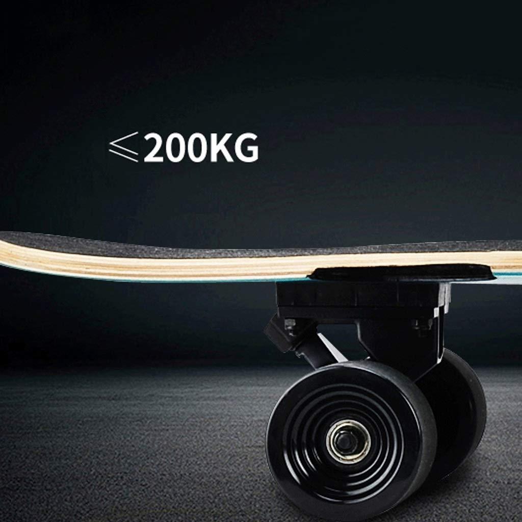 KYCD Long Board Board Board Road Vierrädern Maple Skateboard Erwachsene Mädchen Jungen Fähigkeiten Dance Board Street Skateboard Anfänger B07PVVKCDC Longboards Liebessport, wirklich glücklich 911720