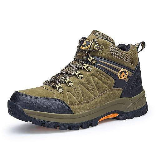 NEOKER Wanderschuhe Damen Herren Trekking Schuhe Outdoor