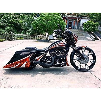 Rain Socker Cover Gauge Air Filter Cleaner Intake Fit For Harley Touring street glide Trike FLHX FLHT FLHR FLTR 2008-2016