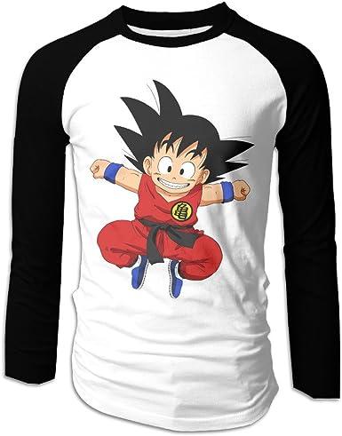 Dragon Ball Z Logo 100/% Cotton Short Sleeve Tshirts for Men