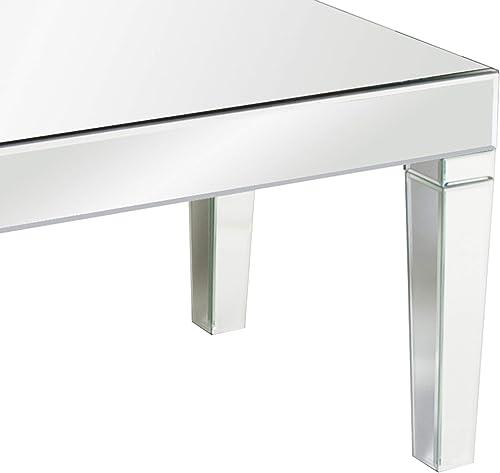 Howard Elliott Mirrored Coffee Table