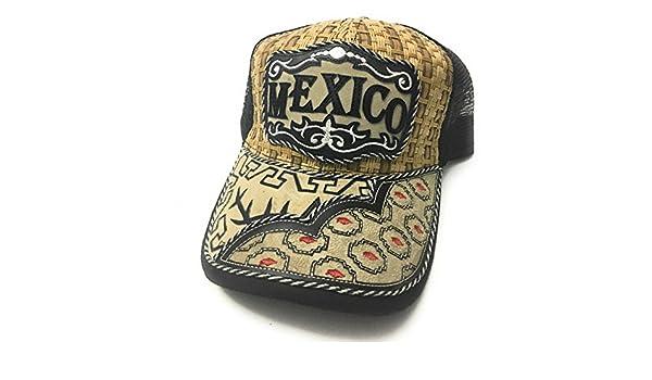 Amazon.com : GORRA CHARRA DE MEXICO. GORRA VAQUERA. HAT. CAP. EL CHARRO : Sports & Outdoors