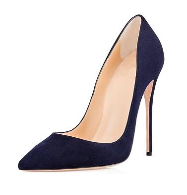 scegli genuino vera qualità prezzo più basso Soireelady Scarpe con Tacco Donna,Tacco a Spillo Alto 12cm