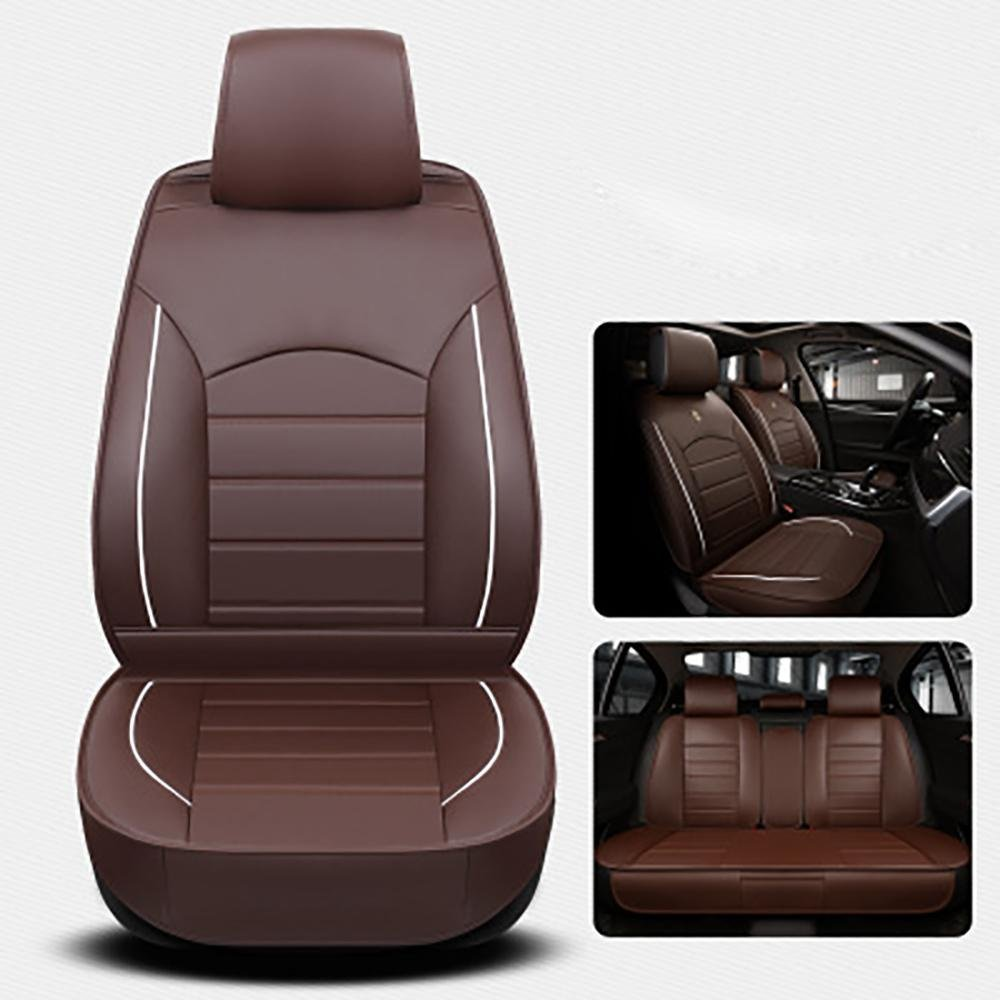 CAR Four Seasons General Car Seat Cushions Car pad Car Styling Car Seat Cover , coffee color