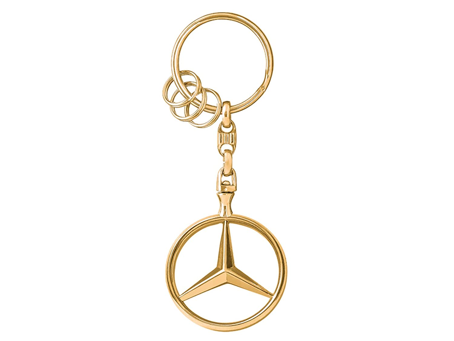 New With Box Mercedes benz key chain 100/% Authentic.