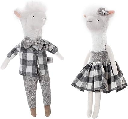 Baby Rabbit Animal Style Fluffy Soft Bunny Plush Toy Doll Christmas Kids Toys LG