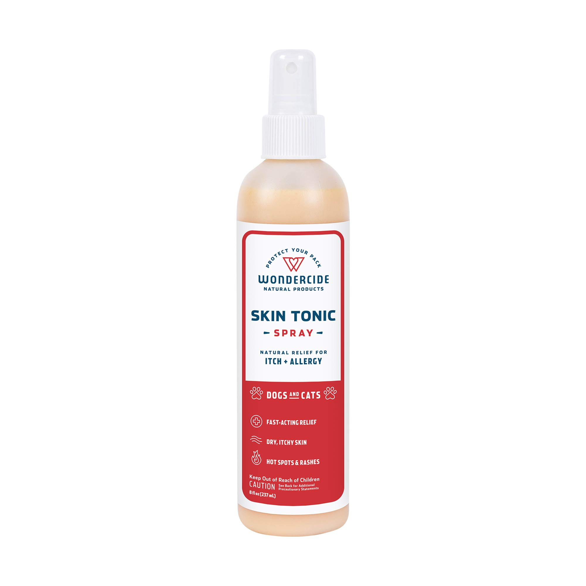 Wondercide Natural Skin Tonic Spray and First Aid Remedy for Pets 8 oz by Wondercide