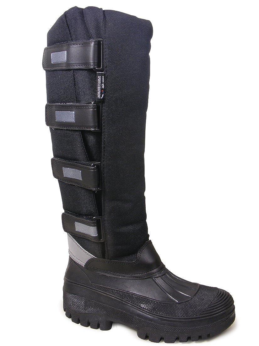 Adults Waterproof Sole Winter Fleece Lined Wellies Snow Farm Ski Muckert Boots Size UK 5