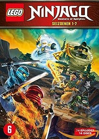 Lego Ninjago Masters Of Spinjitzu Complete Series 1 7 14 Dvd