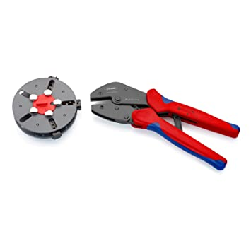 Knipex 97 33 01 Sistema crimpar Azul, Rojo 3: Amazon.es: Bricolaje y herramientas