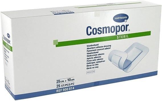 Cosmopor – Tiritas estériles (, 25 x 10 cm, 25 unidades): Amazon.es: Salud y cuidado personal