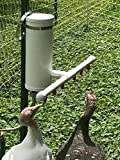 Chicken Chugger - Automatic Poultry Waterer, direct garden hose connection for up to 30 birds