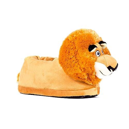 Sleeperz - Zapatillas de casa Alex el león Originales - Madagascar - Adultos y