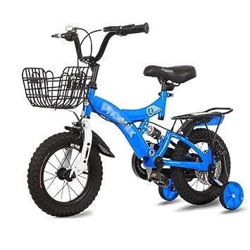 LJJL Bicicleta De Pie Ligero para Niños Y Niñas Bicicleta con ...